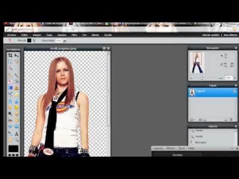 Como hacer imagenes con fondo transparente (PNG) [SOLUCION].