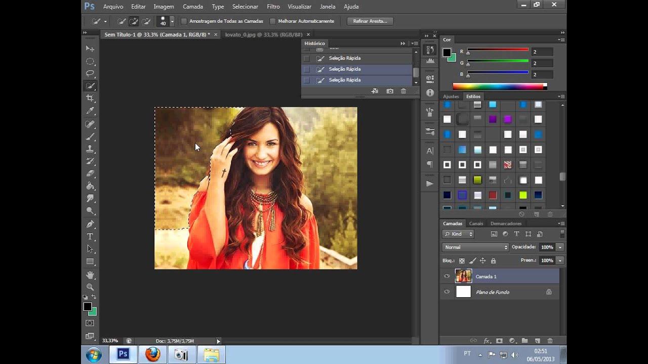 Como Baixar e usar Styles no Photoshop Cs6 ,Pack Com 300 Styles ..