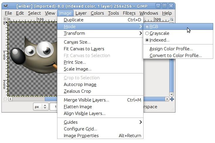 Cómo crear una imagen con transparencia o PNG con GIMP.