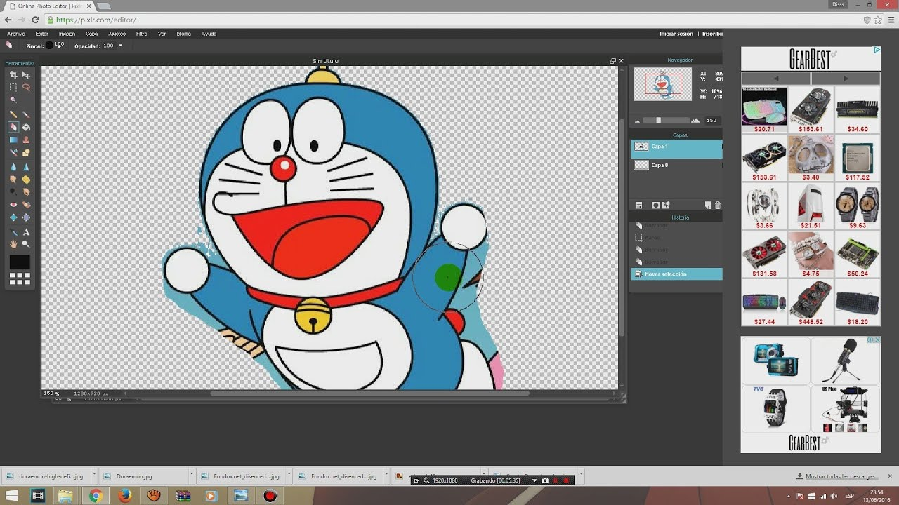 Como hacer imagen png/ Quitar fondo a imagen/ Render/Sin Programas.