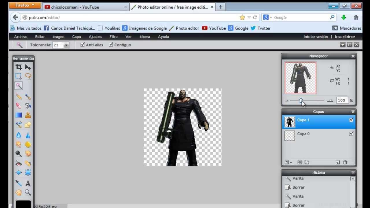 Tutorial como hacer imagenes png sin programas.