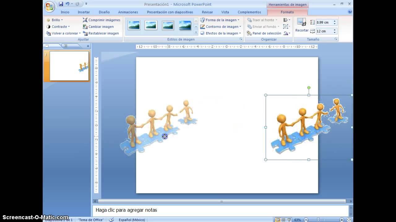 ¿Cómo hacer imágenes con fondo transparente (png) desde PowerPoint?.