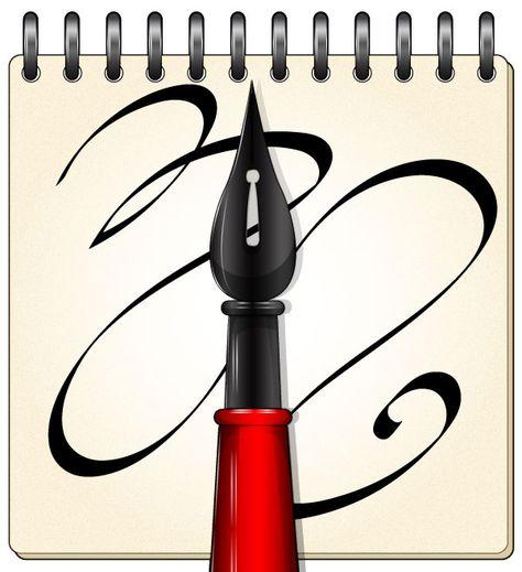 Cómo hacer, usar y manipular un pincel caligráfico en Adobe.