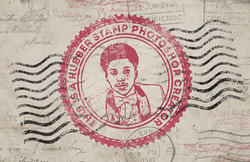How to Create a Rubber Stamp Effect in Adobe Photoshop.