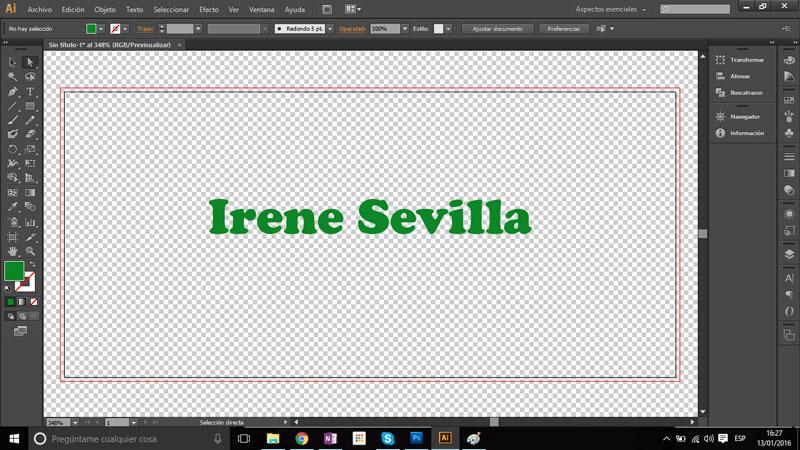 Cómo poner el fondo transparente a un documento en Adobe Illustrator.
