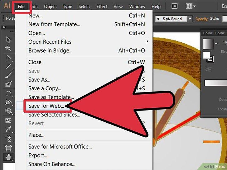 Cómo hacer transparente el fondo de Adobe Illustrator.
