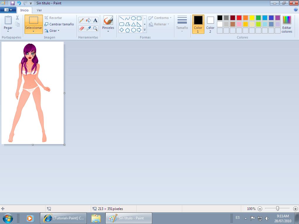 Como hacer un png en paint » PNG Image.