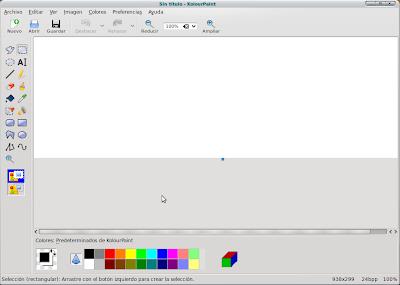 Apuntes de un Usuario Ubuntu Gnu/Linux: Ejecutar Paint (Programa de.