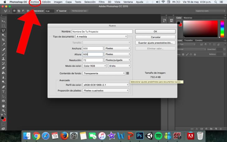 Cómo crear un logo básico con Photoshop: 5 pasos.