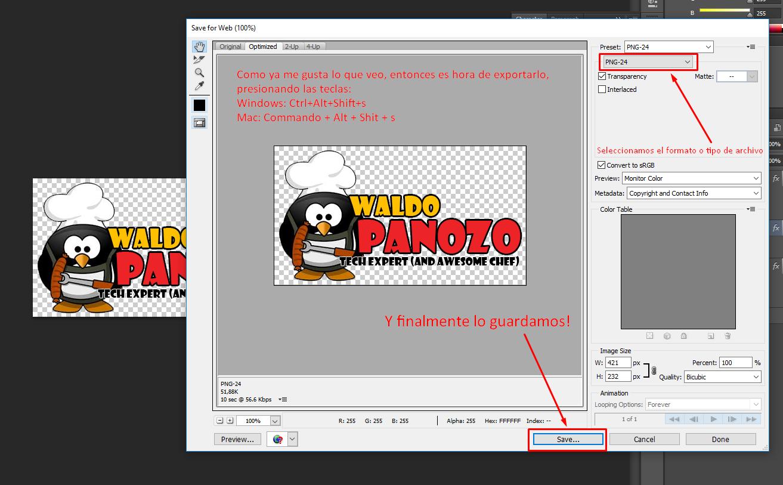 Como hacer un logo con photoshop?.