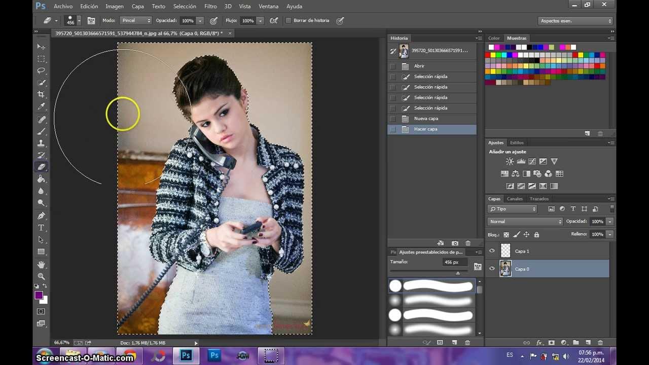 Como Hacer un Png en Photoshop cc.
