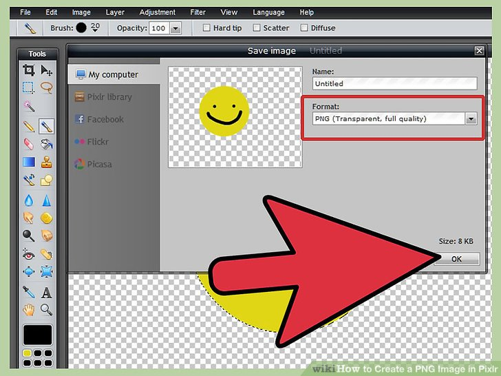 2 Easy Ways to Create a PNG Image in Pixlr (with Pictures).
