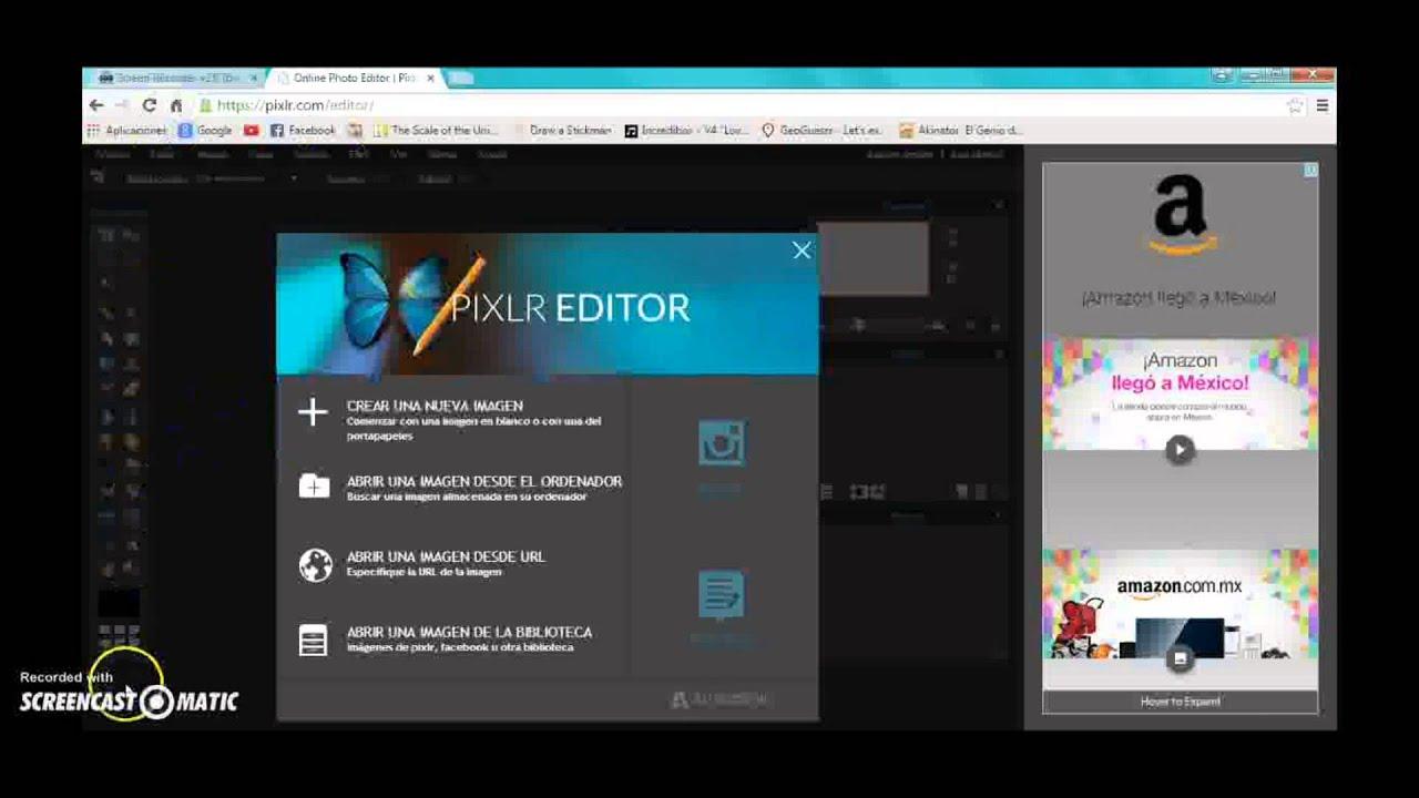 TUTORIAL: Como convertir una imagen jpg a png con Pixlr.