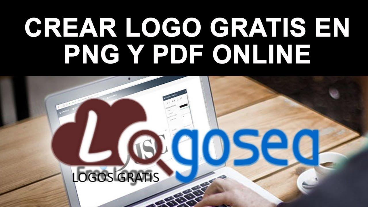 Cómo hacer un logotipo gratis online en PNG transparente MUY FÁCIL.