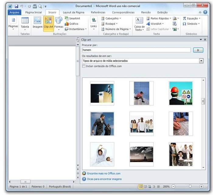 Adeus, Clip Art: Office agora procura imagens direto do Bing.