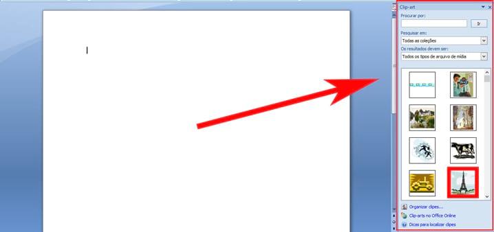Como inserir legenda em objetos no Word.