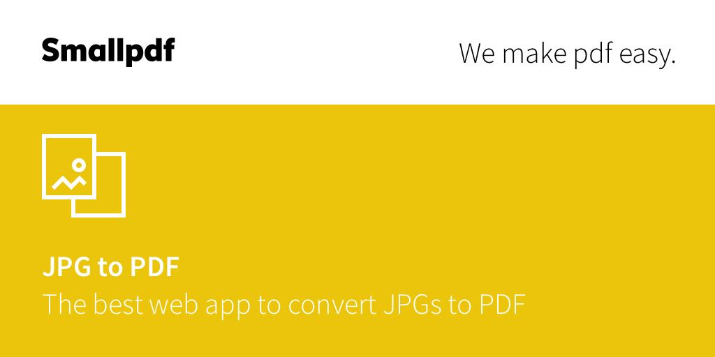 JPG para PDF.
