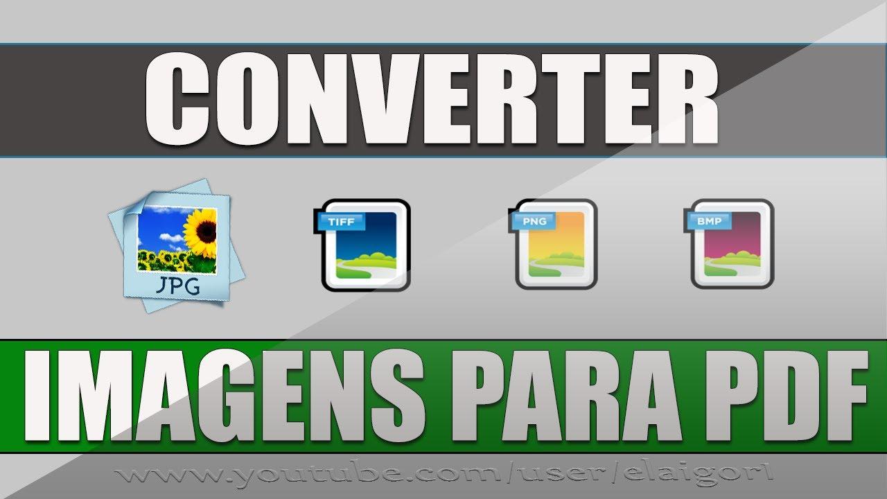 Como converter imagens para PDF ⭐.