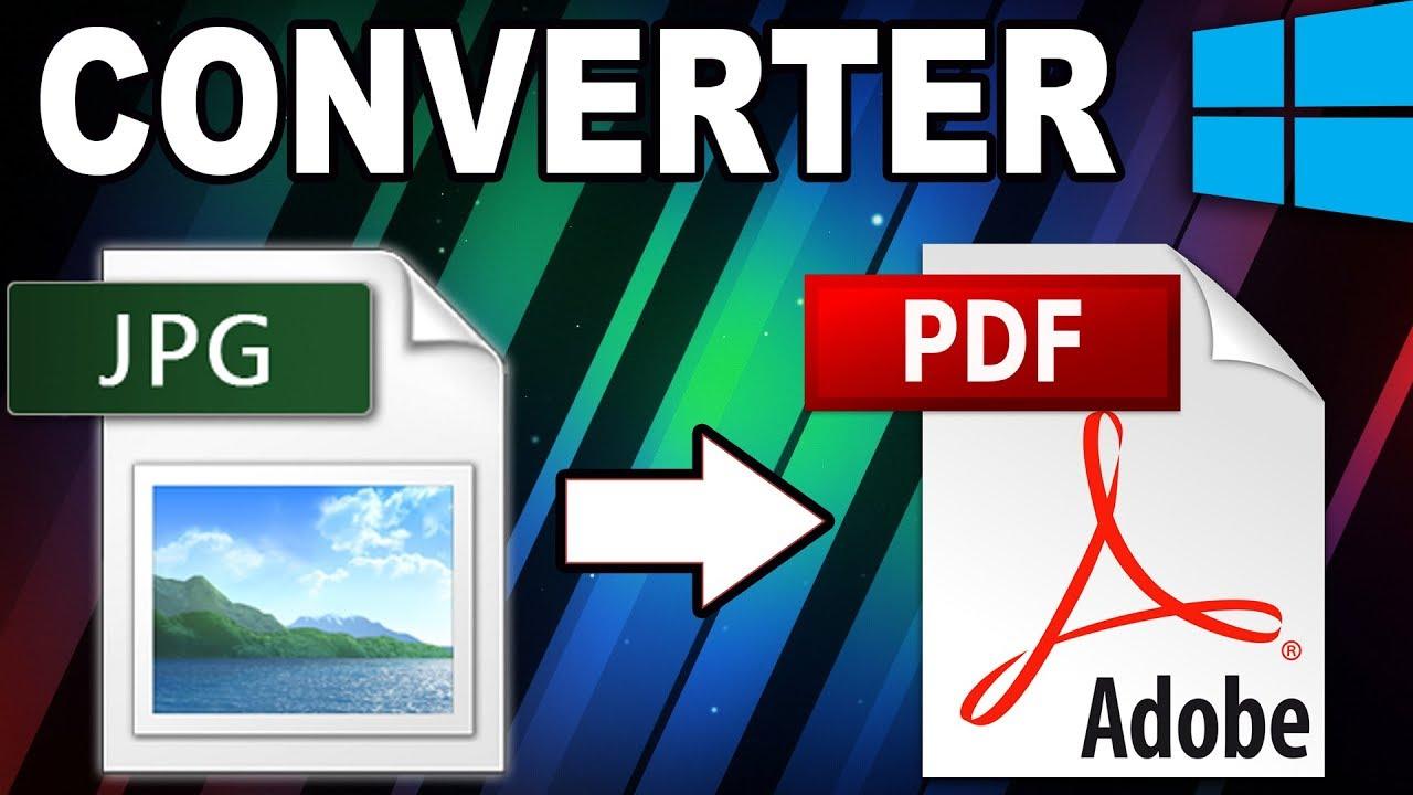 Como converter JPG para PDF.