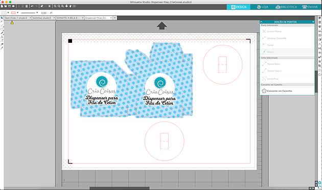 Como Transformar um arquivo .Studio em PDF ou JPG para Tesourete.