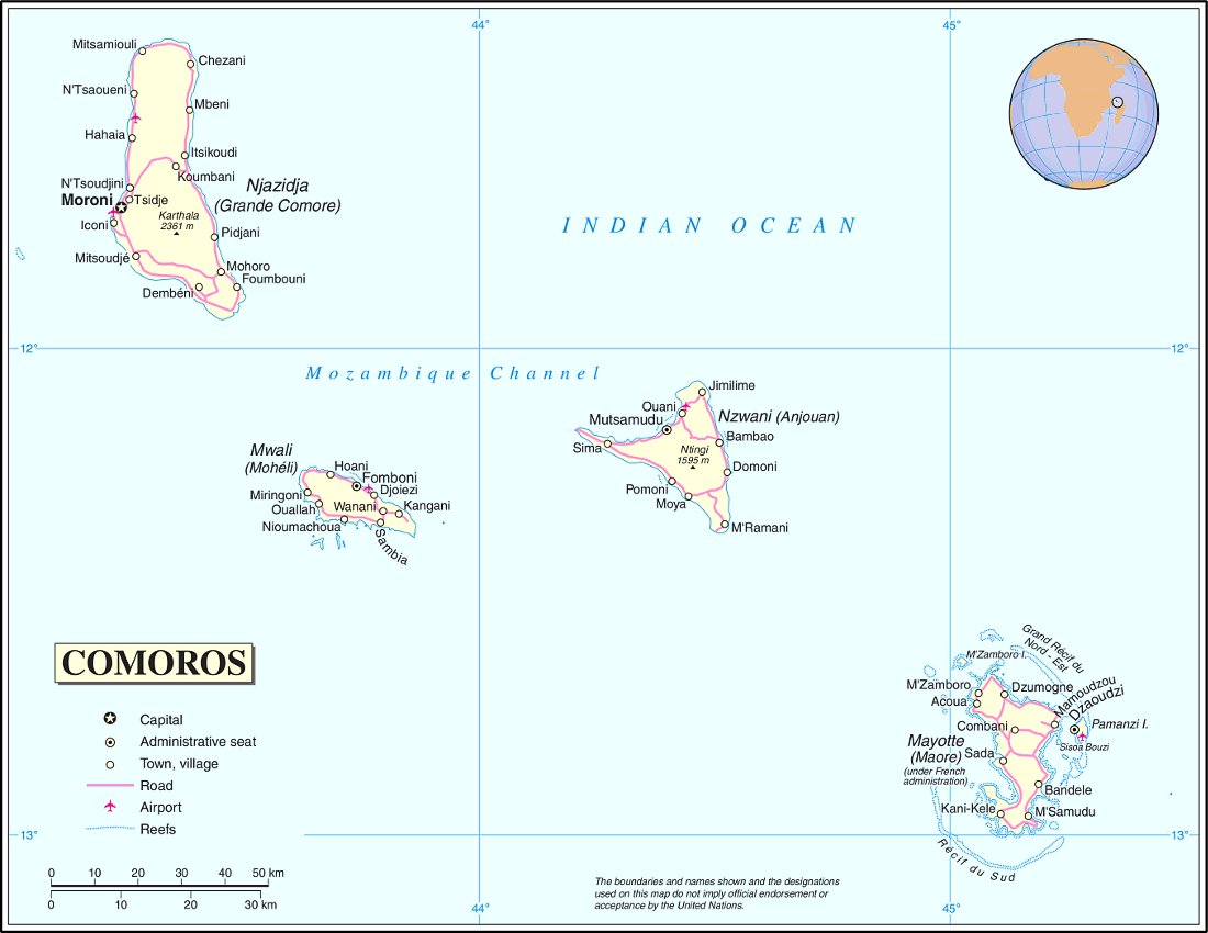 Comoros Clip Art Download.