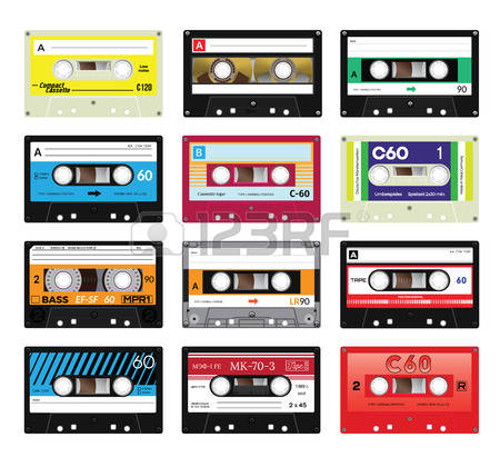 1,424 Magnetic Cassette Stock Vector Illustration And Royalty Free.