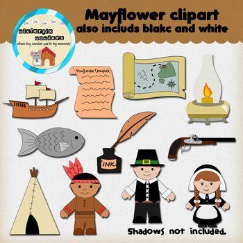Clipart: Mayflower.