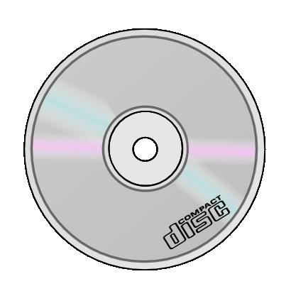Compact disc clip art.