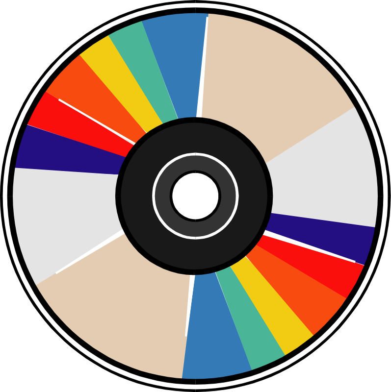 Compact Disc Clipart.