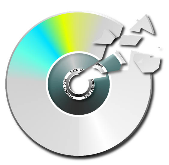 Compact disc clipart #8