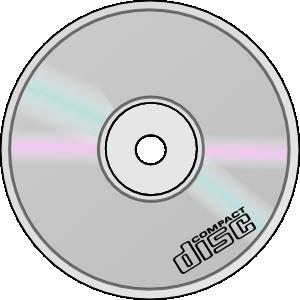 Compact Disc clip art Free Vector / 4Vector.