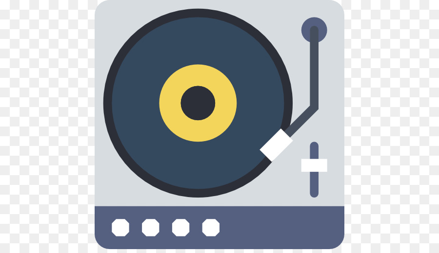 Digital audio Phonograph record Compact disc Icon.