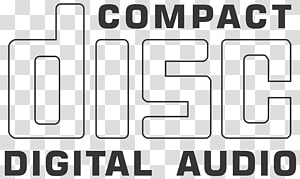 Compact disc digital audio logo, Digital audio Compact disc Logo.