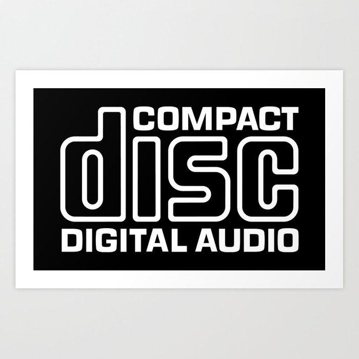 Compact Disk Digital Audio Logo.
