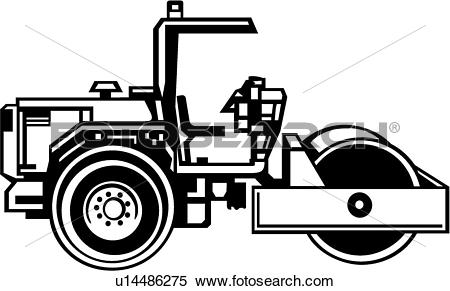 Clipart of Compactor u14486275.