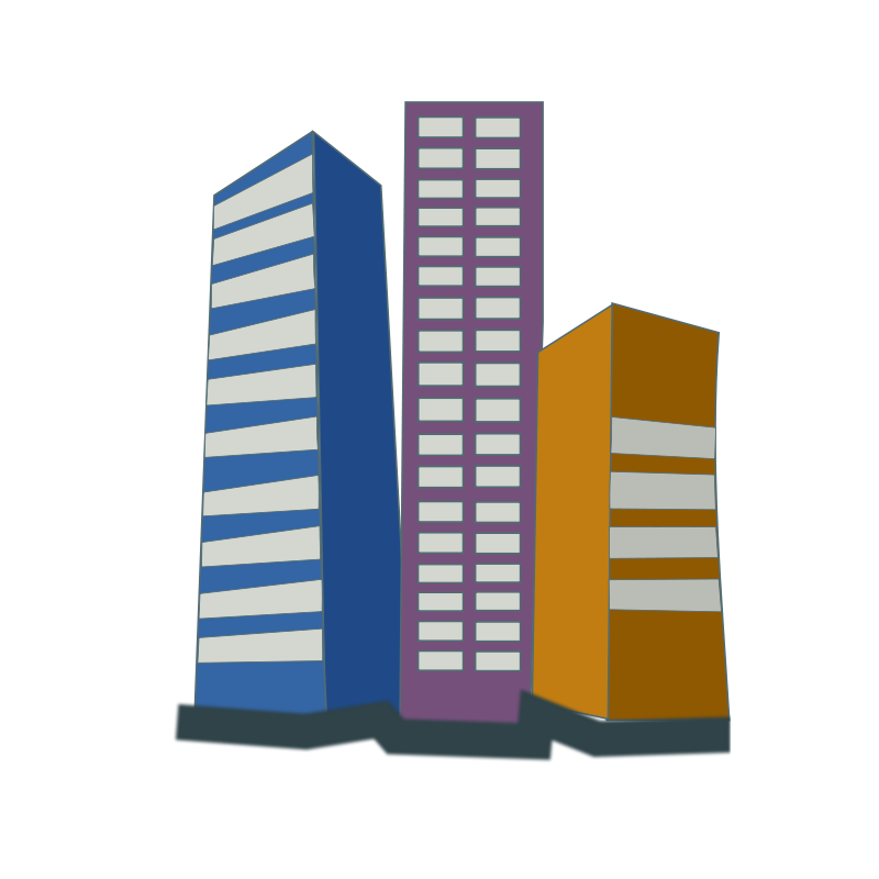 Commercial real estate clipart.