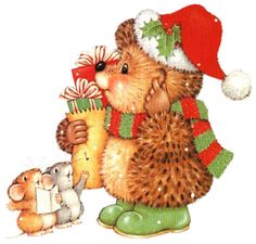 Image Library Designs Original illustrations occasions Christmas.