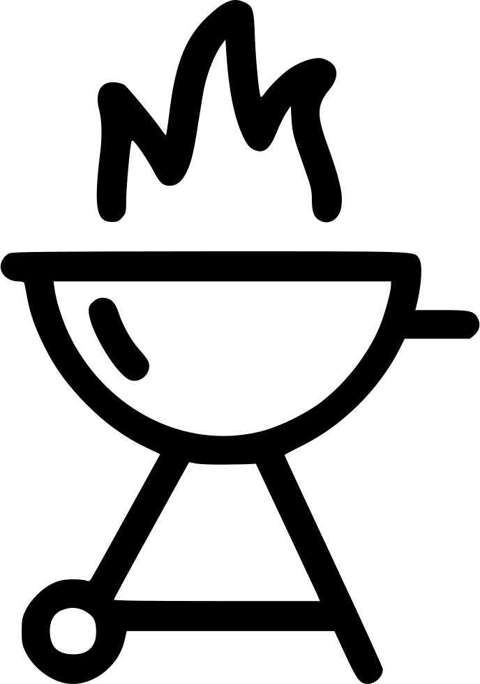 Barbecue Clipart Grill Fire.