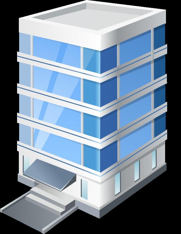 Company building clipart.