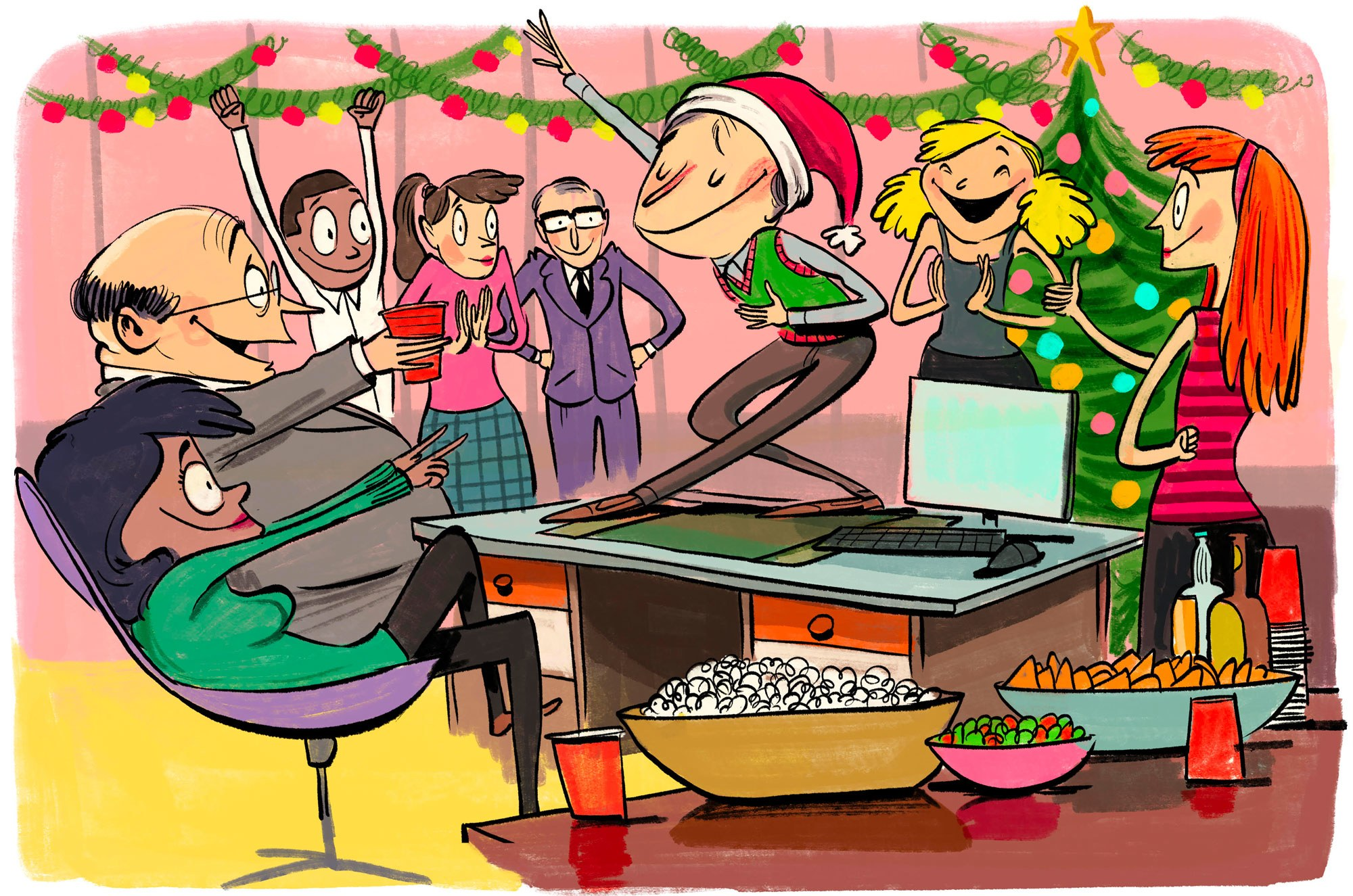 The 9 Cardinal Rules of the Office Holiday Party.