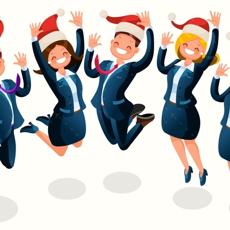 Office Party Clipart.