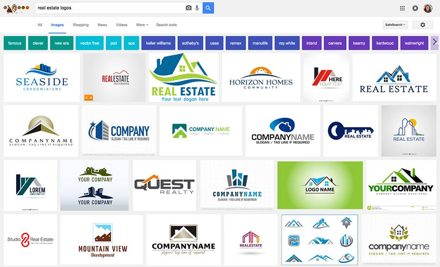 22 beautiful real estate logos that close the deal.