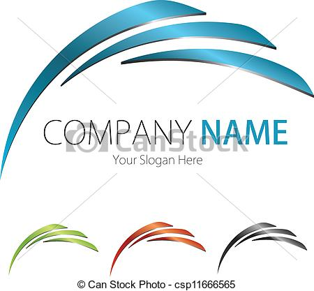 Business Logo Clipart.