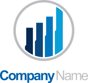 Business finance chart company Logo Vector (.EPS) Free Download.