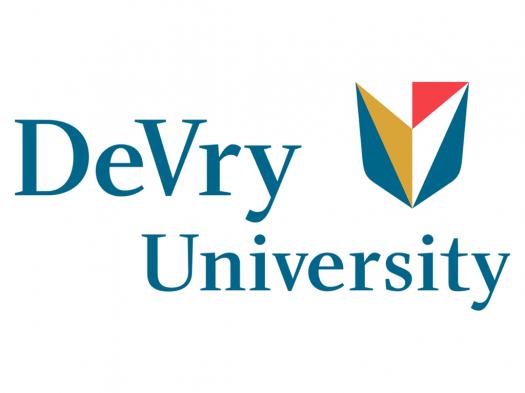 DeVry University Logo.