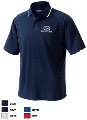 Charles River Mens Classic Wicking Polo.
