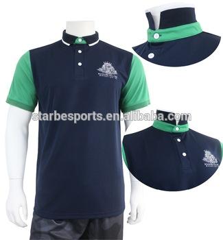 Custom Company Embroidered Logo Polo Shirt For Men No Minimum.