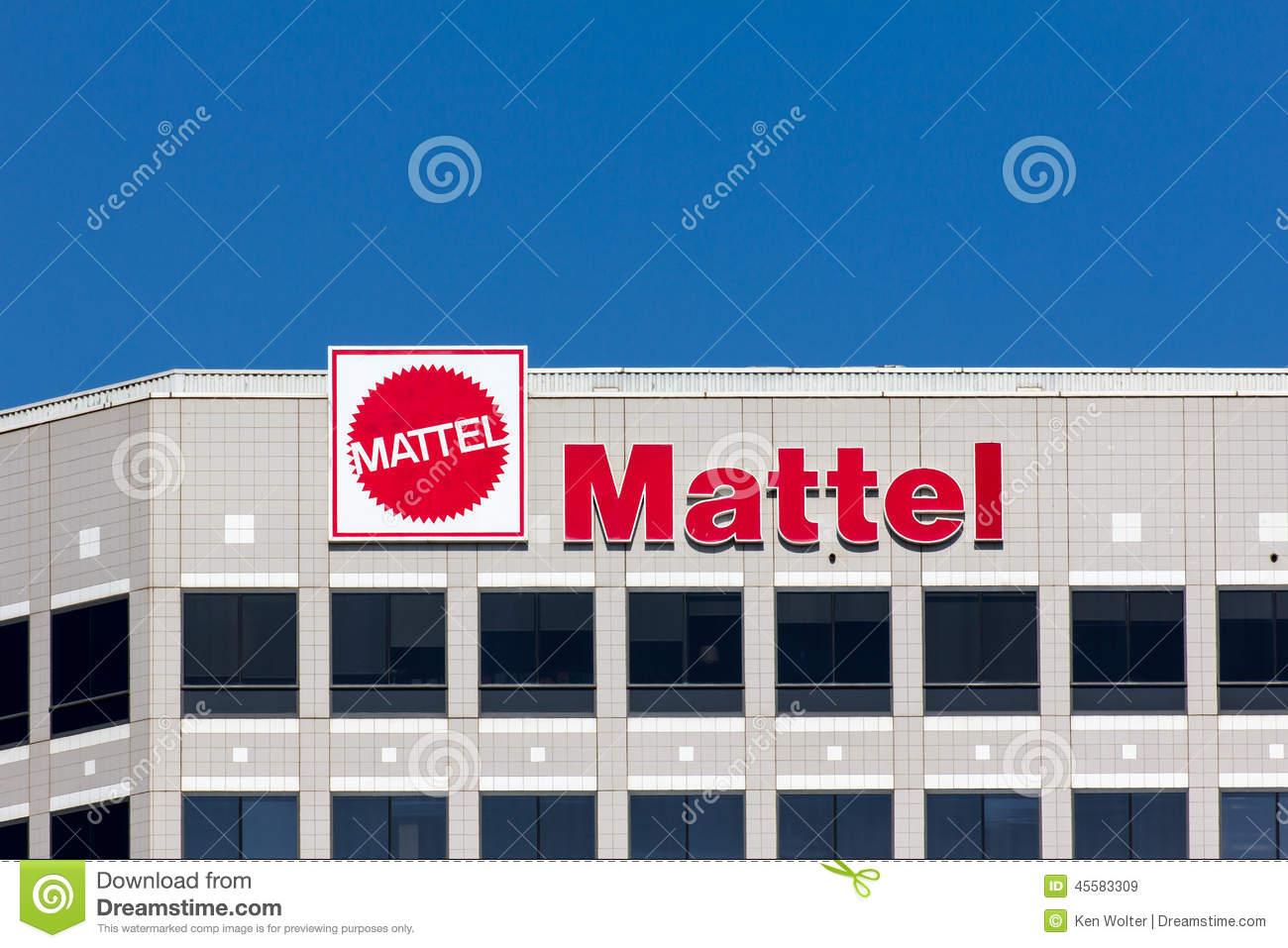 Mattel Corporate Headquarters Building Editorial Stock Image.
