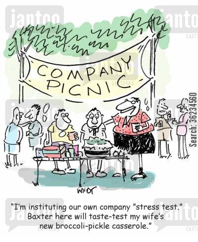 company picnic cartoons.