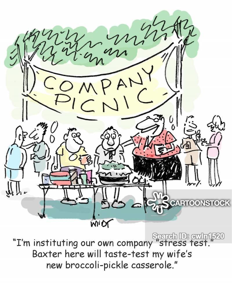 Company Picnic Cartoons and Comics.